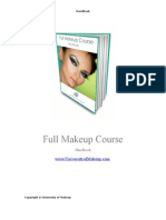 Full Makeup Course Handbook