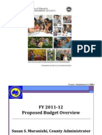 Alameda County 2011-12 Proposed Budget Overview