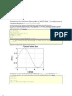 Simulación de ecuaciones diferenciales en MATLAB