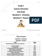 Science Grade 1 Unit 1 Guide 2010