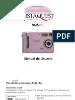 Manual Camara Vista Quest Vq5000