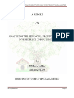 Analyzing the Financial Products of Hsbc Invest Direct
