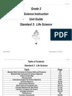 Science Grade 2 Unit 3 2010 Guide