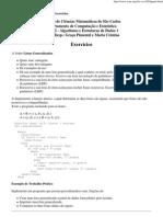TI - Exercicios Listas Generalizadas