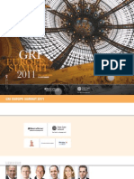 GRI Europe Summit 2011 - Brochure