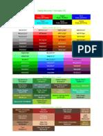 TI - Tabela de Cores 1 HTML