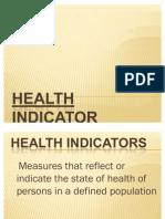 Health Indicator