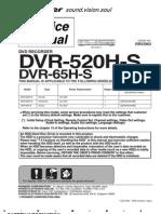 DVR 520H Service Manual