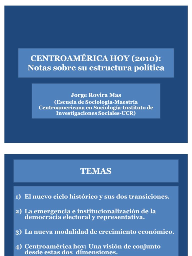 Notas Sobre Su Estructura Política Cátedra Eft 2011