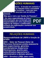 Relacaos Humanas Gestao de Pessoas1