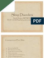 Sleep Disorders 06.20.2011