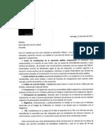 Carta Mesa Ejecutiva de La Confech 21 Junio 2011