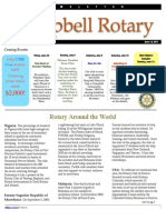 Rotary Newsletter Jun 14 2011