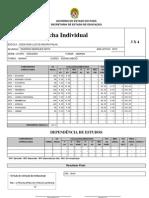 Modelo de Ficha Individual - Seduc - Pa