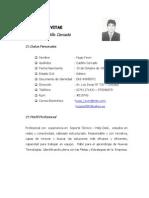 CV - Hugo Kevin Castillo Cercado