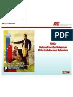 Currículo del Sistema Educativo Bolivariano