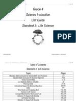 Science Grade 4 Unit 2 2010 Guide