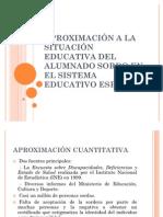 APROXIMACIÓN A LA SITUACIÓN EDUCATIVA DEL ALUMNADO SORDO - copia