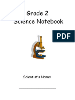 Science Notebook Grade 2