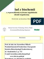 01 BIOCHEMIA Wybrane Zagadnienia Ch