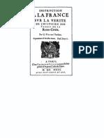 La Verité de l'histoire des Freres des Roses-Croix (1623) (Vieux Français)