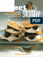 Chocolate Peanut Butter Cups Recipe from Sweet and Skinny by Marisa Churchill