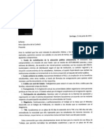 Carta Mesa Ejecutiva de La Confech 21 Junio 2011-1