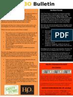 H3O Safety Bulletin 5-24-2011
