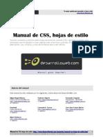 Manual Css Hojas Estilo