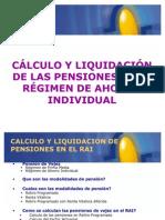 Calculo y Liquidacion de Pensiones