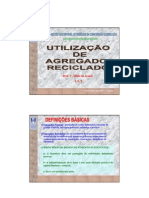 AGREGADOS RECICLADOS