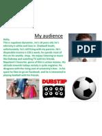 My Audience Profile