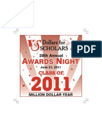 VVS 2011 Dollars for Scholars Awards Night