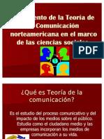 Nacimiento de la Teoría de la Comunicación norteamericana