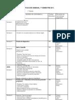 Plan 1º medio 2011 1er semestre