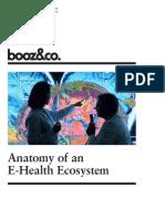 BoozCo Anatomy of E Heatlh Ecosystem