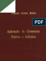 Aplicação de elementos finitos e infinitos