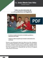 21-06-11 Cano Vélez escucha demandas de sectores productivos de Magdalena