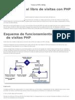 Llibro de Visitas Con PHP y MySQL