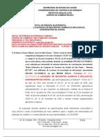 Edital- Reagentes,Insumos Kit Clamidia 2070