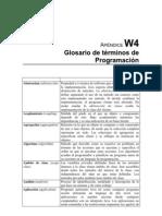 Glosario de Termines de Programacion