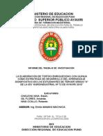 MINISTERIO DE EDUCACION