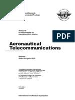 Annex 10 Vol.1 - 6th Edition, July 2006