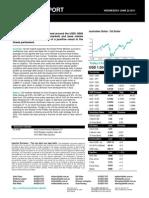 Australian Dollar Outlook 22 June 2011