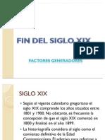 Factores Gene Rad Ores Siglo XIX