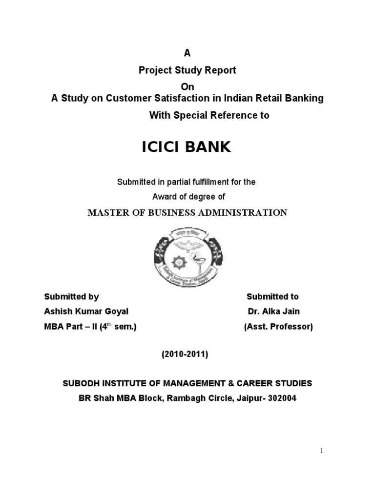 literature review of financial analysis of icici bank