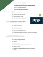 Informe Del Seminario de Seguridad Industrial y Salud Ocupacional