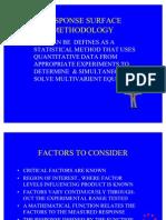 RSM Fundamentals