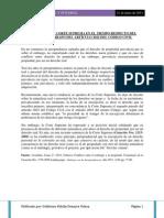 POSICION DE LA CORTE SUPREMA EN EL TIEMPO RESPECTO DEL SEGUNDO PARRAFO DEL ARTÍCULO 2022 DEL CODIGO CIVIL