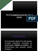 PROCESAMIENTO DIGITAL DE LA SEÑAL